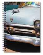 Route 66 Classic Car Spiral Notebook