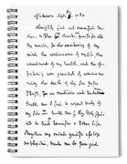 Samuel Johnson (1709-1784) Spiral Notebook