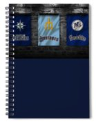 Seattle Mariners Spiral Notebook