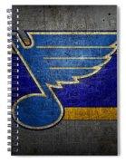St Louis Blues Spiral Notebook