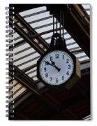 10 To 11.  Milan Railwaystation Spiral Notebook