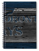 Toronto Blue Jays Spiral Notebook