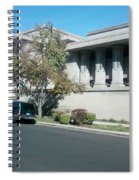 Unity Temple Spiral Notebook