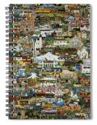 100 Painting Collage Spiral Notebook