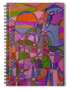 1008 Abstract Thought Spiral Notebook