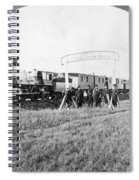 100th Meridian, 1866 Spiral Notebook