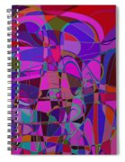 1016 Abstract Thought Spiral Notebook