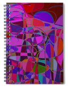 1017 Abstract Thought Spiral Notebook