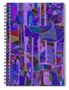 1022 Abstract Thought Spiral Notebook