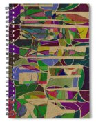 1023 Abstract Thought Spiral Notebook