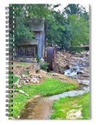Sixes Mill - Dukes Creek - Square Spiral Notebook