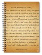 104- Theodore Roosevelt Spiral Notebook