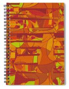 1045 Abstract Thought Spiral Notebook