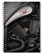 106ci V-twin Spiral Notebook