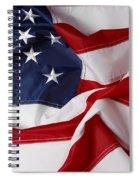 American Flag 34 Spiral Notebook