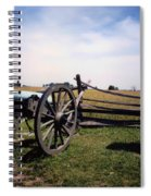 10th Mass Battery - Gettysburg Spiral Notebook
