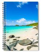 Beautiful Caribbean Beach Spiral Notebook