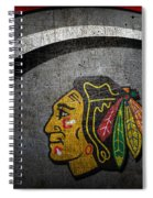 Chicago Blackhawks Spiral Notebook