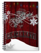 Cincinnati Reds Spiral Notebook