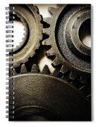 Cogs No12 Spiral Notebook