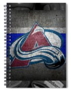 Colorado Avalanche Spiral Notebook