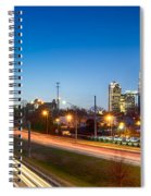 Early Morning In Charlotte Nc Spiral Notebook