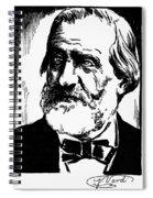 Giuseppe Verdi (1813-1901) Spiral Notebook