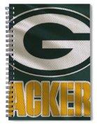 Green Bay Packers Uniform Spiral Notebook