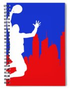 Los Angeles Clippers Spiral Notebook
