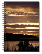 Outer Banks North Carolina Sunset Spiral Notebook