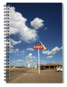 Route 66 Cafe Spiral Notebook