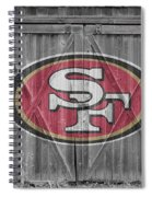 San Francisco 49ers Spiral Notebook