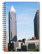 Skyscrapers In A City, Philadelphia Spiral Notebook
