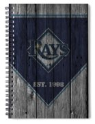 Tampa Bay Rays Spiral Notebook
