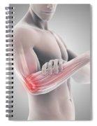 Tennis Elbow Spiral Notebook