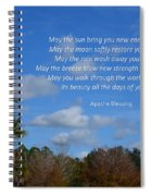 113- Apache Blessing  Spiral Notebook