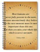 116- Eckhart Tolle Spiral Notebook