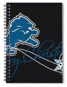 Detroit Lions Spiral Notebook