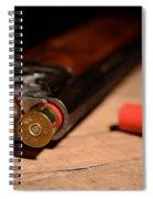 12 Gauge Over And Under Shotgun Spiral Notebook