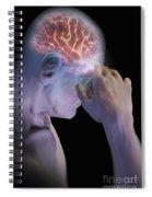 Head Pain Spiral Notebook