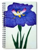 Japanese Flower Spiral Notebook