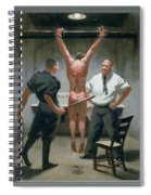 12. Jesus Is Beaten / From The Passion Of Christ - A Gay Vision Spiral Notebook