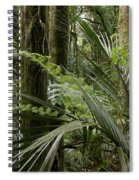Jungle Leaves Spiral Notebook