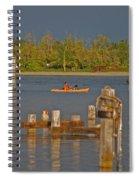 12- Kayak Spiral Notebook