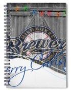 Milwaukee Brewers Spiral Notebook