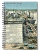 Panama Canal, C1910 Spiral Notebook