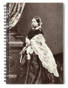 Queen Victoria (1819-1901) Spiral Notebook