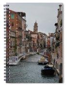 Venice Canal Spiral Notebook