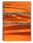 120- Rumi Spiral Notebook