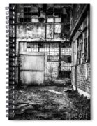 Abandoned Sugarmill Spiral Notebook